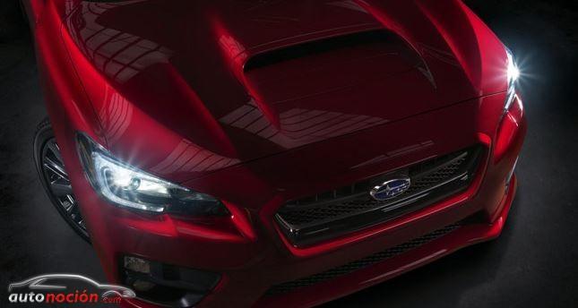 Subaru nos muestra un teaser del WRX de producción