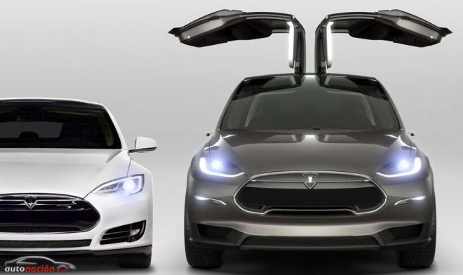 Tesla Model X: ¿El primer SUV con alas de gaviota?