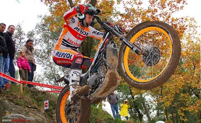 Toni Bou se alza con su quinto Campeonato de España de Trial