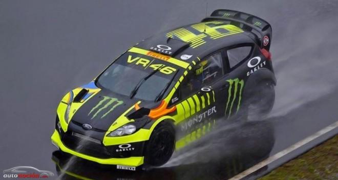 Rossi en el Monza RallyShow