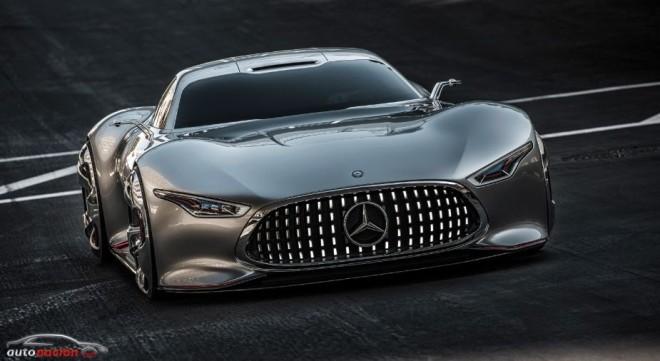 Así de espectacular es el Mercedes-Benz Vision Gran Turismo