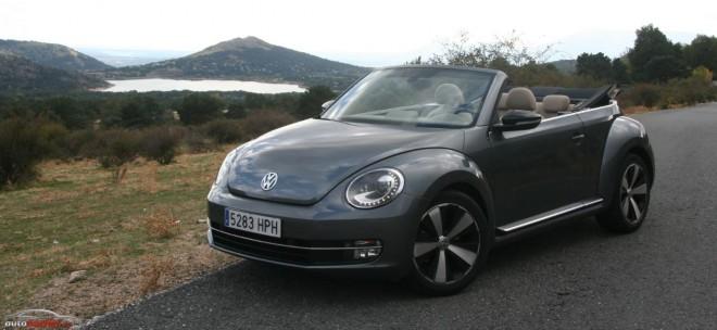 Prueba Volkswagen Beetle Cabrio 1.4 TSI 160 cv: Recuperando la esencia