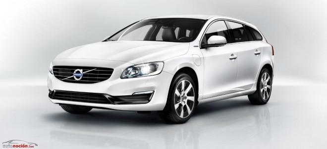 El Volvo V60 híbrido enchufable llegará a España en 2014 desde 60.900 euros