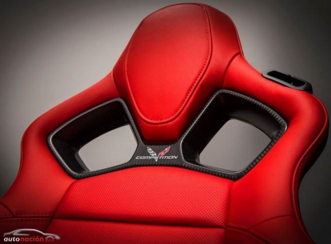 Pensados para el conductor: los nuevos asientos del Corvette Stingray