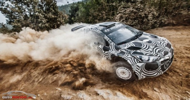Hyundai pone a prueba el i20 WRC