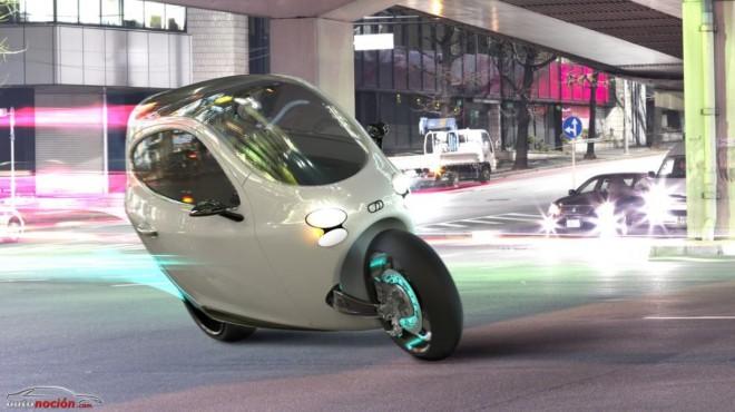 ¿Una motocicleta con un sistema autobalanceable?