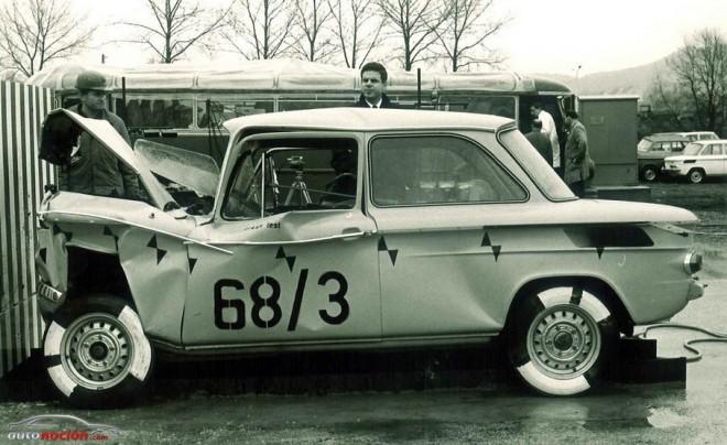 Las pruebas de choque en Audi cumplen 75 años
