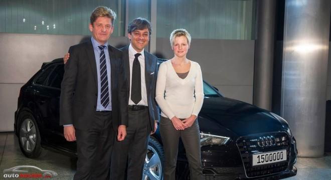 Audi vende 1,5 millones de vehículos en 2013