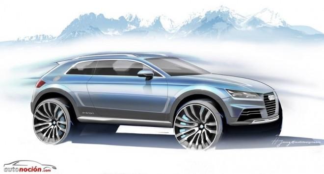 Audi nos propone un SUV de 3 puertas: ¿Un posible rival del Evoque?