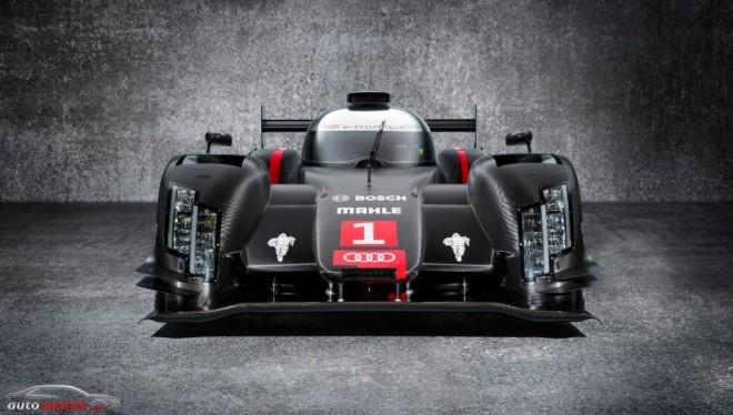 Audi ajusta los últimos detalles del Audi R18 e-tron