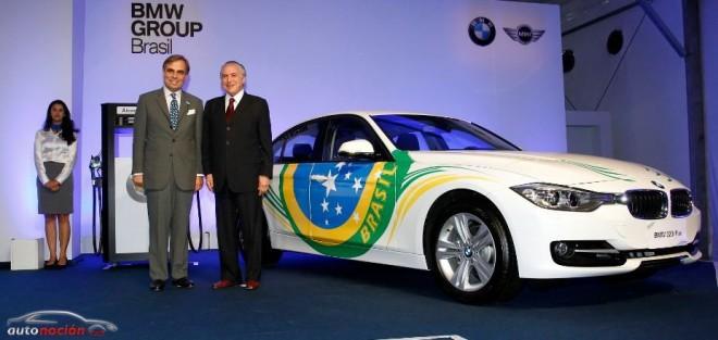 BMW construirá su primera planta de producción en Brasil