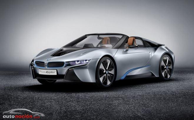 ¡BMW i8 Spyder a producción!