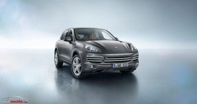 Porsche lanza la Platinum Edition para el Cayenne