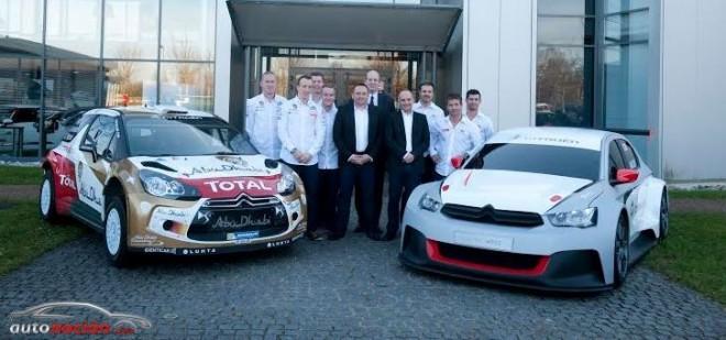 Un año completo para Citroën Racing