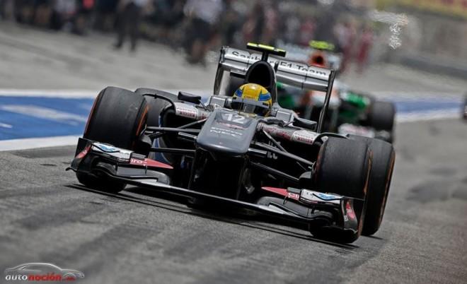 Esteban Gutiérrez permanecerá un año más en Sauber