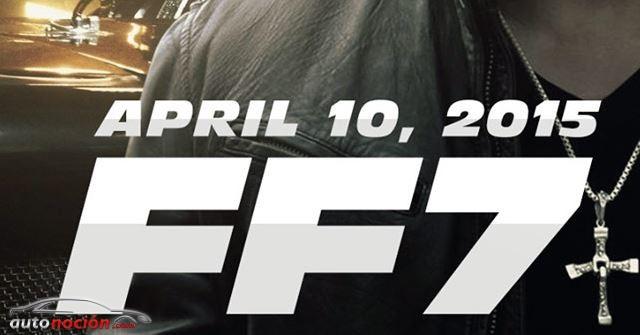 Nuevo cartel y nueva fecha para el estreno de Fast & Furious 7