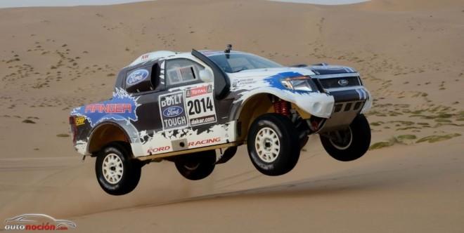 Ford participará con dos Ranger en el Dakar 2014