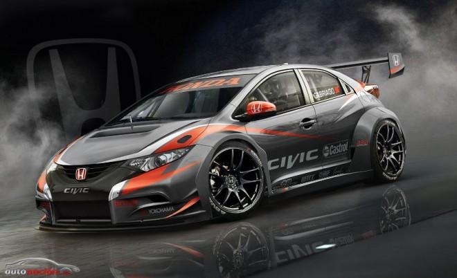 El Honda Civic 2014 WTCC toma forma