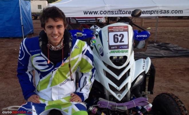 El participante más joven del Dakar tiene sólo ¡18 años!
