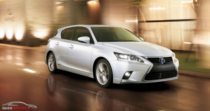 Lexus CT 200h LATERAL