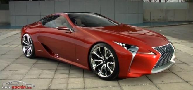 Un sucesor del Lexus LFA basado en el LF-LC podría estar de camino…