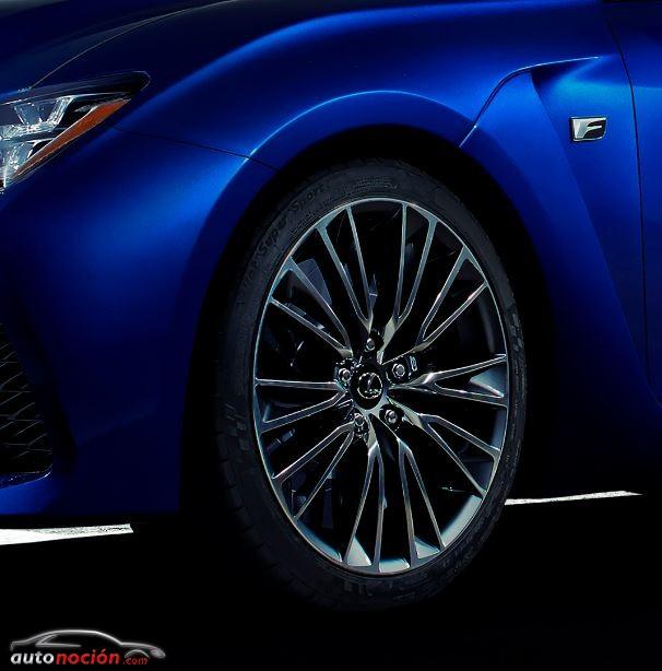 ¿466 cv para el Lexus RC-F?