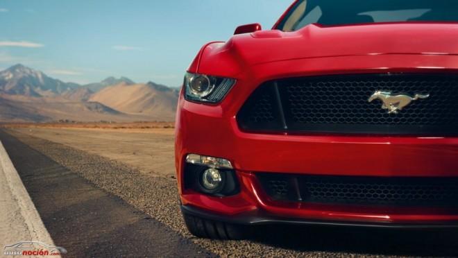 El Mustang Shelby GT350 parece estar cocinándose en el horno de Ford
