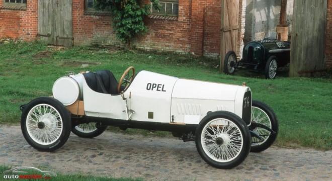 100 años de motores Opel de cuatro válvulas