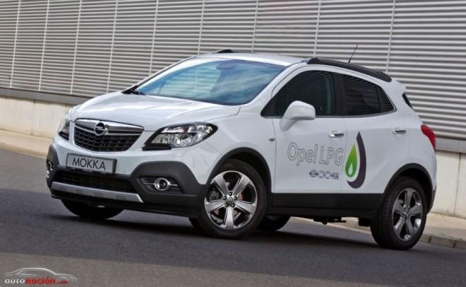 La nueva variante del Opel Mokka utilizará GLP