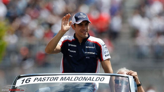 Pastor Maldonado correrá con Lotus en 2014