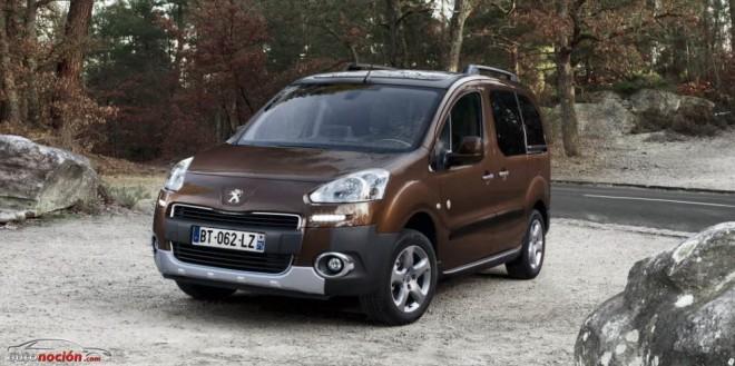 Peugeot Partner: Ahora a los que van cargados se les ofrece una motricidad reforzada