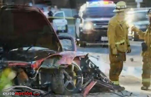 La viuda de Roger Rodas demanda a Porsche por el accidente de Paul Walker y su marido