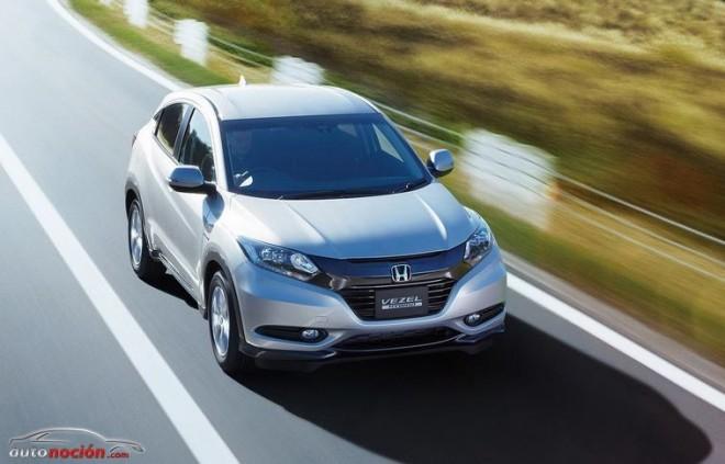 Honda retoca su crossover compacto Vezel para su debut en el mercado europeo en 2015