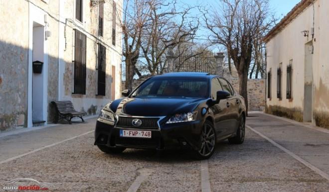 Prueba Lexus GS 300h F SPORT: Un Híbrido Premium con cabeza