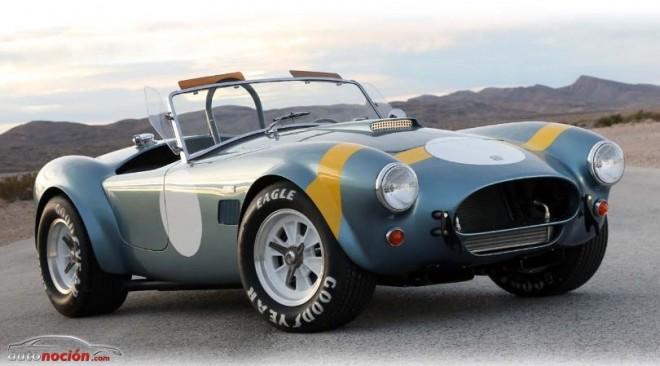 El Shelby Cobra vuelve por su 50 aniversario en las carreras: Shelby 289 CSX7000 FIA Cobra