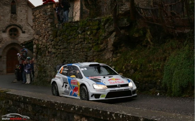 Rally Montecarlo: Ogier se pone líder en un día casi perfecto