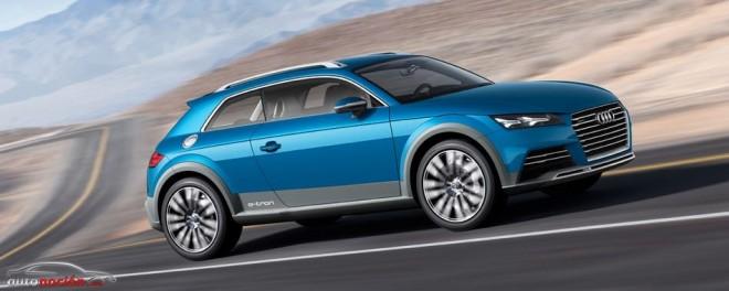 Audi allroad shooting brake: el futuro de los crossover híbridos