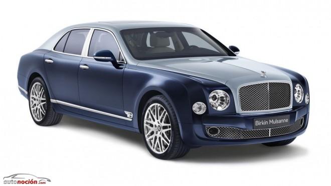 Nuevo Birkin Mulsanne, 22 unidades de un Bentley sólo para europeos