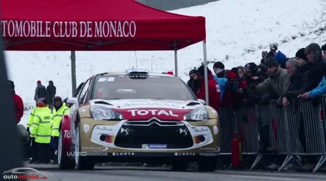 Pistoletazo de salida al mundial de Rally 2014 en Montecarlo