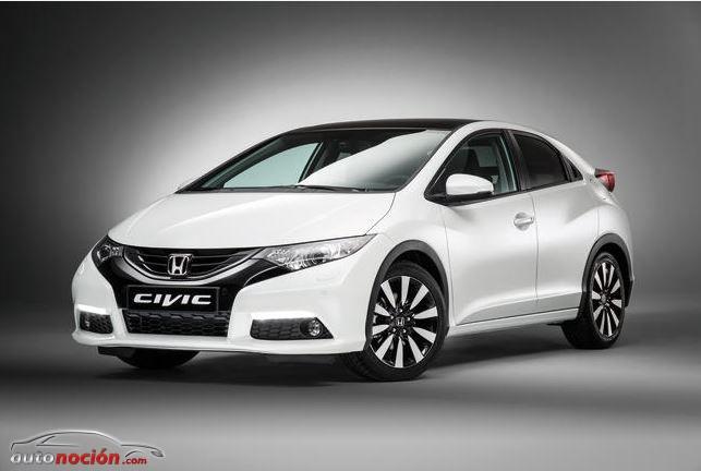 Honda refresca el Civic: Nuevos equipamientos y motores
