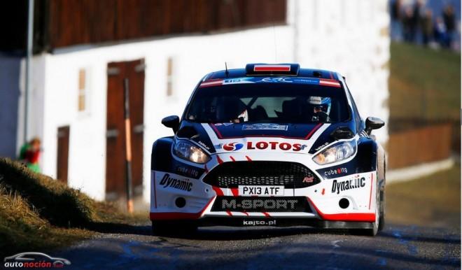 Kubica logra la victoria en su debut con el Ford Fiesta