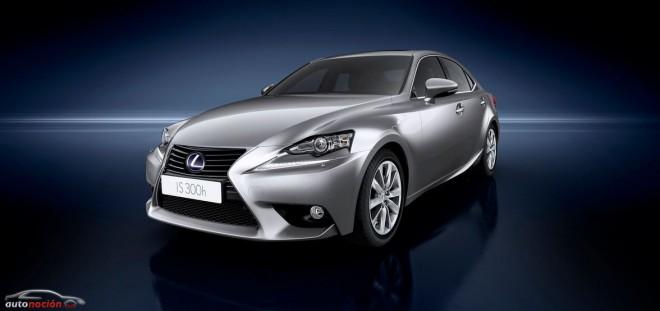 Lexus IS 300h, el mejor en su clase, según Euro NCAP