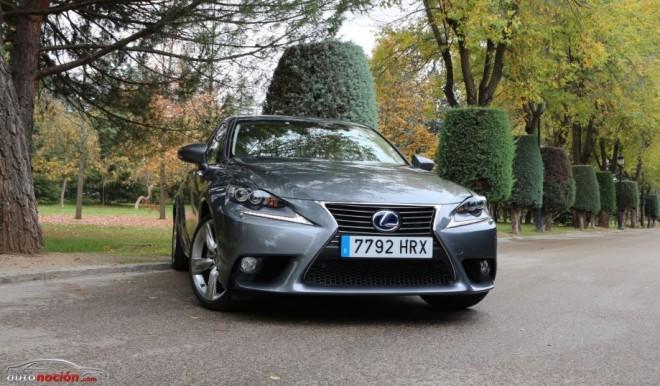 Prueba Lexus IS 300h Hybrid Plus: La clase Business en tamaño compacto declara la guerra al diésel