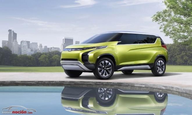 Mitsubishi crea el primer monovolumen SUV: Concept AR