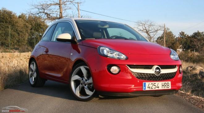 Prueba Opel ADAM 1.4l de 100 cv: Un pintoresco urbanita a la carta