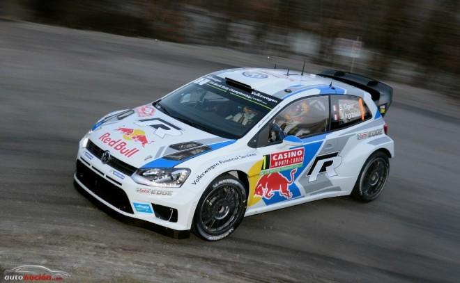 Rally Montecarlo: Ogier comienza el mundial como terminó, en cabeza