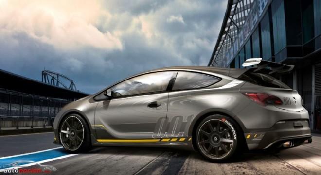 Nuevas imágenes del Astra OPC EXTREME: El Opel con piel de fibra de carbono