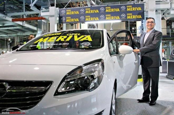 """El nuevo Opel Meriva también será """"Made in Spain"""""""