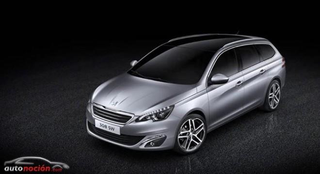 Peugeot 308 SW: Así es la versión familiar