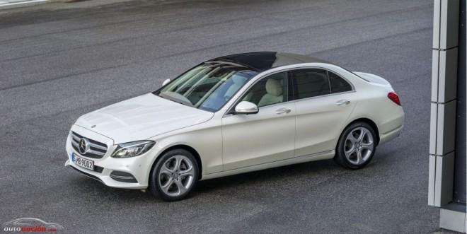 Mercedes-Benz C160, el nuevo escalón de acceso a la gama contará con 130 CV